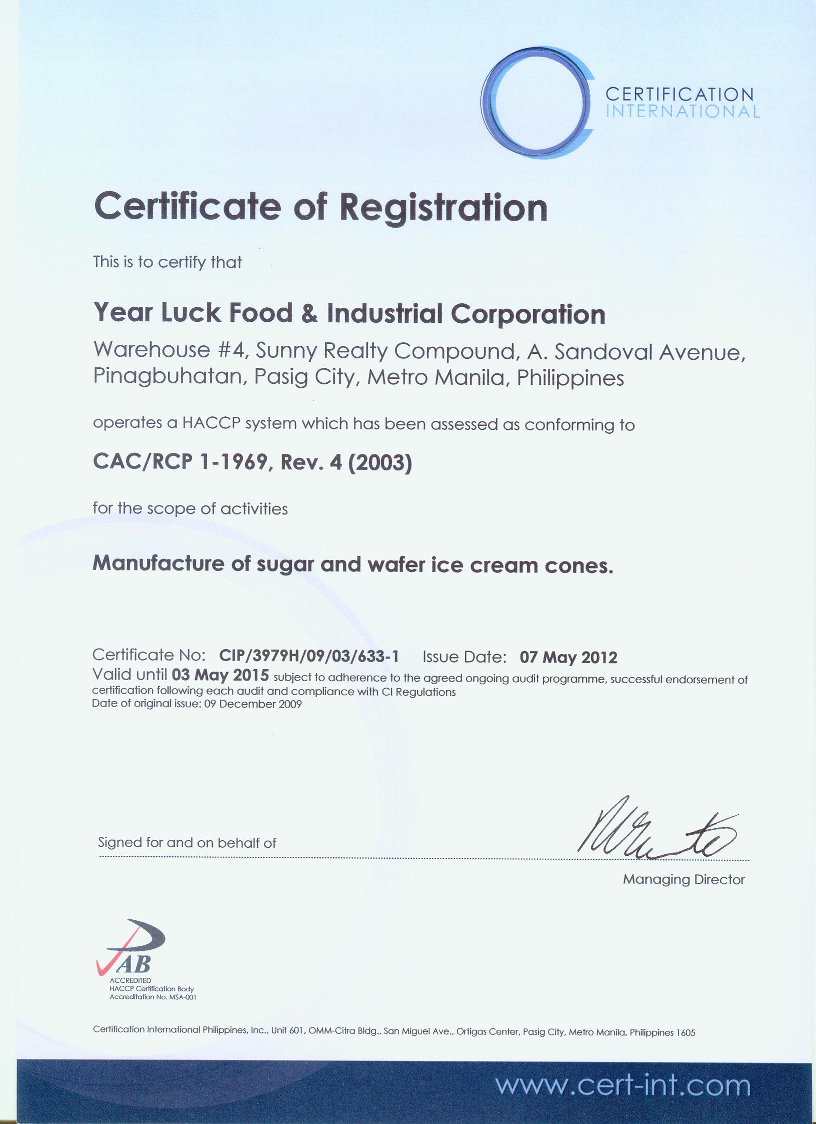 Premix year luck food industrial corporation picture xflitez Choice Image